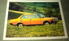 1976 FIAT 131 MIRAFIORI -  WEETBIX AUSTRALIA  Swap Card
