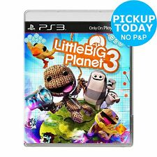 Little Big Planet 3 Sony PlayStation PS3 Game -From the Argos Shop on ebay