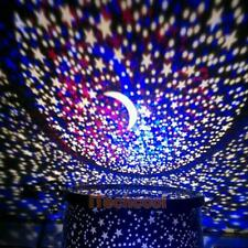 Kids Bedroom Night Starry Projector Lamp Master Sky Star LED Light Romantic Gift