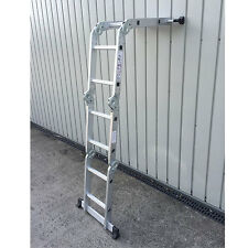 2.3M 4x4 Multi Purpose Folding Aluminium Ladder Functional Aluminium Ladder