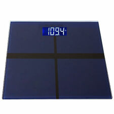 New 400LB/180KG Digital LCD Bathroom Body Weight Tempered Glass Scale