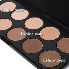 10 Matte Warm Colors Makeup Concealer Cream Foundation Contour Face Palette Nude