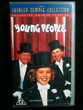 YOUNG PEOPLE ~ SHIRLEY TEMPLE, GEORGE MONTGOMERY ~ RARE VHS VIDEO