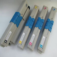 4x Toner Cartridges For OKI C301 C321 MC332 MC332DN MC342 MC342DNW KCMY