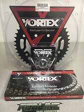Vortex  520 Chain Sprocket Kit , front and rear for 2006-2016 Honda CBR600RR