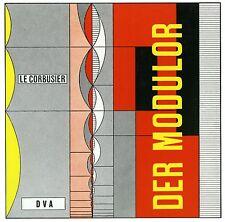 Fachbuch Le Corbusier – Der Modulor, Geschichte und Theorie der Architektur, NEU