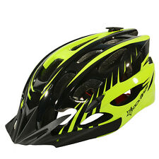 Rockbros Cycling Helmet Road Bicycle MTB Helmet Size M/L 57cm-62cm Black Green