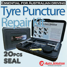 Car Tyre Repair Kit 4WD 4x4 Motorcycle Tubeless Recovery Kits Puncture 20 Seal