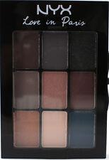 NYX Eyeshadow Palette LIP11 YOU ARE IN SEINE Love in Paris Brown Tan Blue Grey