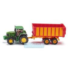 Siku Pretend Play Dicast Vehicles - John Deere with Silage Trailer