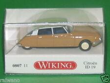 1:87 Wiking 080711 Citroén ID 19 - braunbeige/elfenbein Blitzversand per DHL