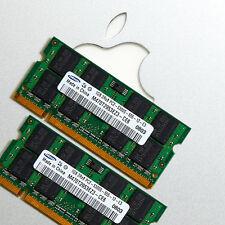 2x 1GB Ram APPLE Mac MacBook/Pro/mini DDR2 667MHz PC2-5300 SODIMM 200PIN SDRAM