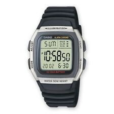 Casio Mens Sports Alarm Chronograph Watch W-96H-1AV