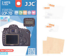 2 + 2 LCD Cover Display for Canon EOS 7 D protective film protection