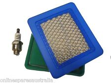 GENUINE Briggs and Stratton 491588s QUANTUM Air Filter & Spark Plug Lawn Mower
