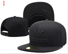 NEW Fashion ! Hot baseball Snapback Hat Hip-Hop adjustable bboy black Cap