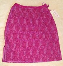 Brand New Pink High Quality Lace And Bids Alannah Hill Skirt Size 10 Unique $299