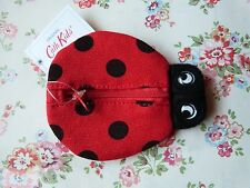 Cath Kidston Laby Bird / Bug Change Purse RED