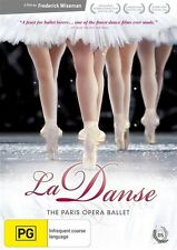 La Danse - The Paris Opera Ballet (DVD, 2011)-REGION 4-Brand new