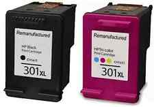 HP 301XL Black And Colour Ink Cartridges For HP Deskjet 1050A