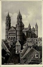 Worms Rheinland-Pfalz AK ~1940 Dom Kirche Kathedrale Verlag Herbst ungelaufen