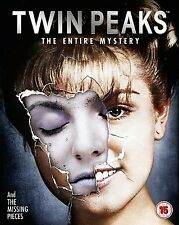 "TWIN PEAKS THE ENTIRE MYSTERY 10 DISC DVD BOX SET BLU-RAY RB ""NEW&SEALED"""