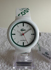 Lacoste Goa 2010522 Unisex Men's Ladies Japan Quartz Green White Watch - NEW