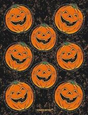 Amscan 4 Sheets Of HALLOWEEN Pumpkin Stickers Party Bag Filler Prizes Activity
