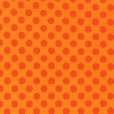 1/2 metre Robert Kaufman Spot On Flames Orange 100% Cotton (50cmx110cm)