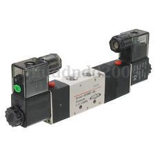 Magnetventil 5/3 Wege 4V230C-08 DC12V Pneumatikventil Double Head Solenoid Valve