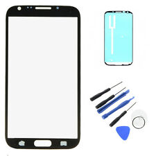 Black OEM Replacement Screen Glass Lens For Samsung Galaxy Note 2 II N7100 T889