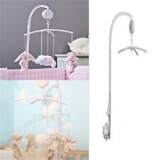 Chic Baby Toy Crib Mobile Bed Bell Holder Arm Bracket+ Wind-up Music Box Set J