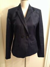 BNWT Reiss Teah-Fitted Double Breast Deep Pacific Blue Jacket. Size M RRP £225