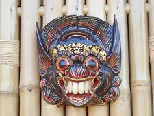 Hand Carved & Painted Wooden Balinese Barong Mask 24cm....