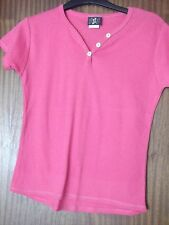 Ladies Cerise Pink Top by ZZZZZZ Size Large