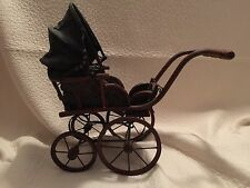 Vintage Antique Doll Carriage Children's Baby Buggy Stroller