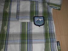 Neuwertiges Hemd  für Jungen*Gr. 110* grün/weiß* w. NEU !