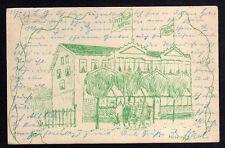 86236 AK Miedzyzdroje Misdroy 1903 Peterson Hotel Künstlerkarte Bahnpost