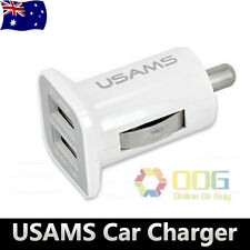 3.1A Dual USB 2-Port In-Car Socket Charger 12v for iPhone Samsung HTC IPAD NOKIA