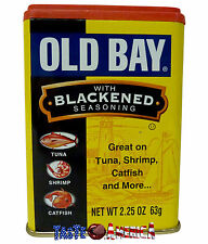 Old Bay With Blackened Seasoning 63g Tin American Import