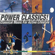 CD Power Classics -Classical Music For Active Lifestyle