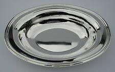Schale - versilbert - oval - 31 x 22 cm - NEU!