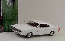 1968 Dodge Charger R/T weiss Holiday Edition 1:18 Auto world Ertl
