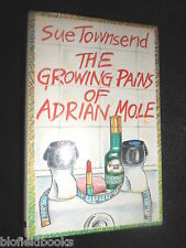 SUE TOWNSEND; The Growing Pains of Adrian Mole 1984-1st, Young Adult Humour Fict