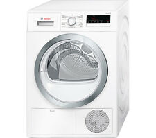 BOSCH WTN85280GB 8kg Freestanding Condenser Tumble Dryer White