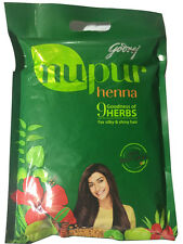 Nupur 100% pure Natural Henna Hair Color  with Amla Brahmi No chemical - 150g