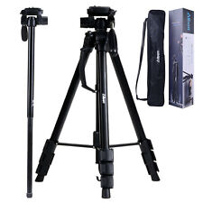 Professional Pan Head Tripod Monopod Digital Camera Stand Canon Nikon Sony DSLR