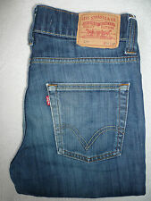 LEVI'S 511 JEANS MEN'S SLIM STRAIGHT W34 L32 STRAUSS BLUE LEVG121