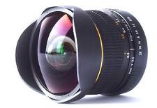 8mm Fisheye Wide Angle Macro Lens for Nikon D90 D5100 D5000 D3300 D3100 D3000