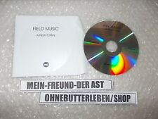 CD Pop Field Music - A New Music (1 Song) Promo MEMPHIS INDUSTRIES